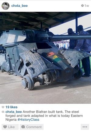 biafran tank