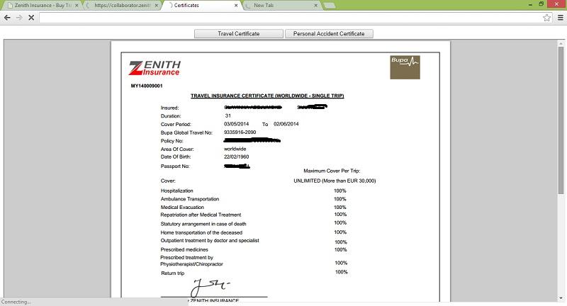 zenith insurance hack 1