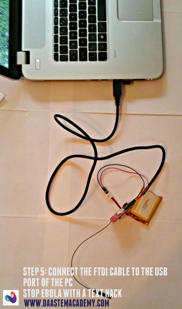 05Ebola - FTDI to USB port