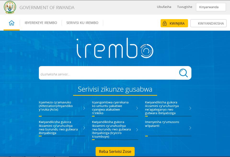 Irembo.gov.rw