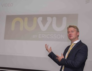 Robert Rudin, Country Manager and VP Sub Saharan  Africa at Ericsson, during the Nuvu media brief