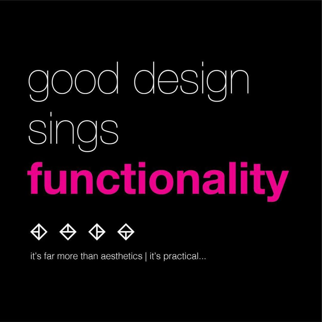 Good design sings functionality Joe Tamunotonye