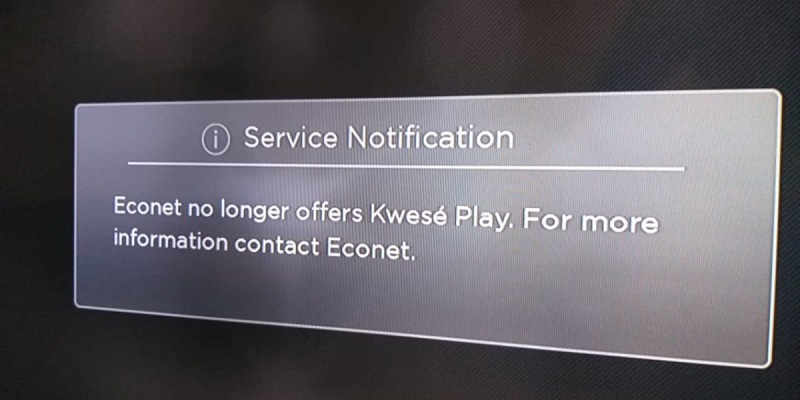 Econet's Kwese Play Not Officially Shutdown but its Future is Highly Uncertain
