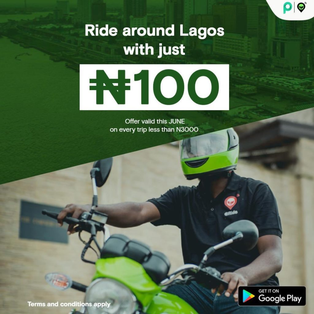 OPay gained visibility with its ride hailing service, ORide