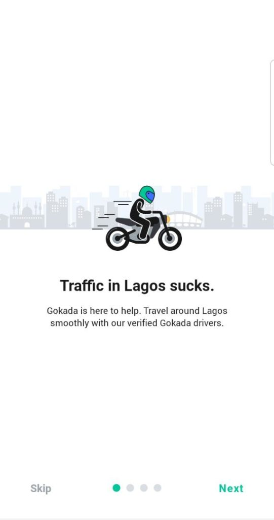 Gokada's new app looks neat from the jump