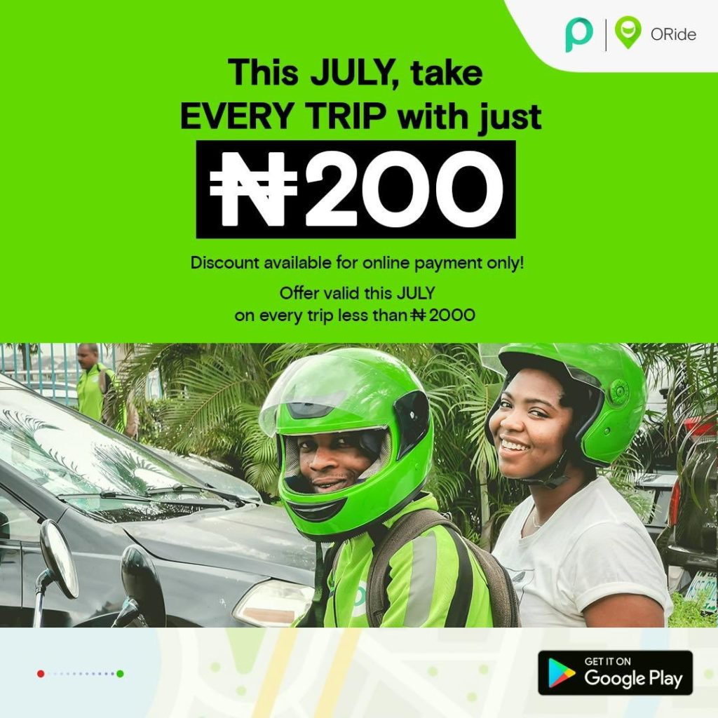 Oride caught the public's imagination with ridiculous discounts
