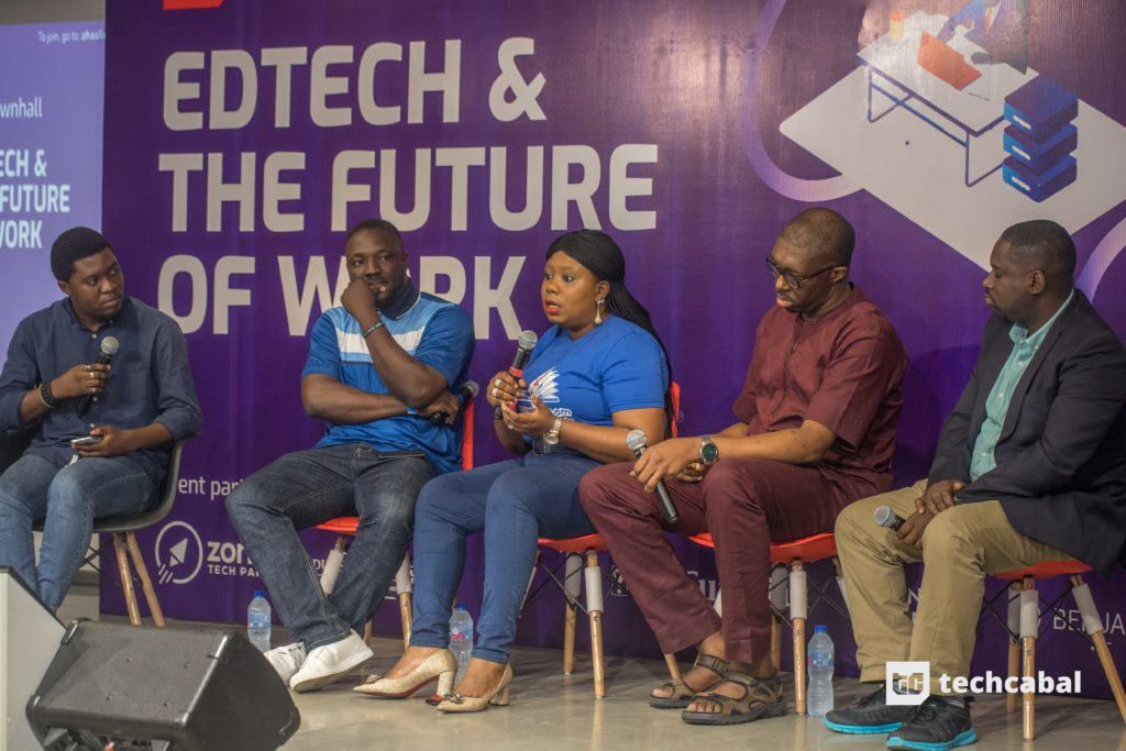 """""""So when you ask me the future of Nigeria education is, I think it dependents on… the most critical stakeholders which are the government."""
