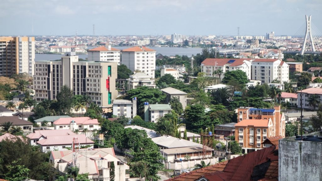 Ariel view of Ikoyi, Lagos State, Nigeria. Muster is Becoming Nigeria's Airbnb