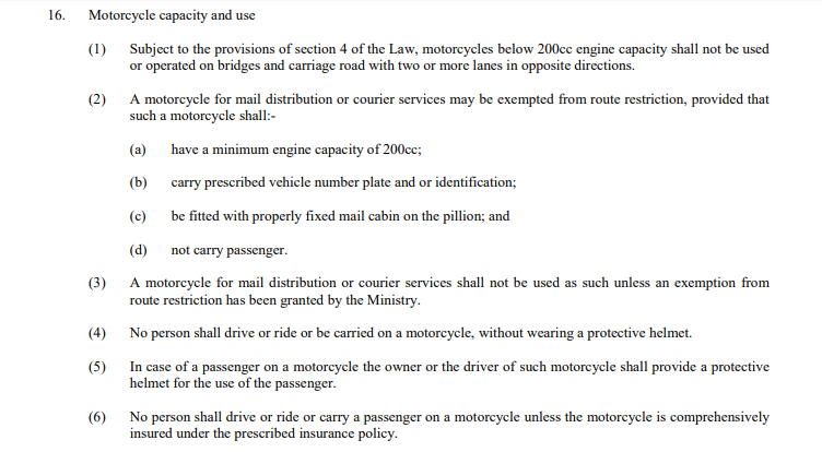 Lagos state road traffic law 2012
