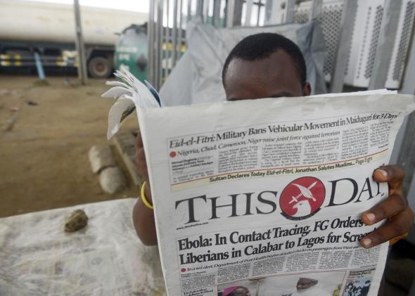 COVID-19 is quietly threatening a collapse of Nigeria's news media