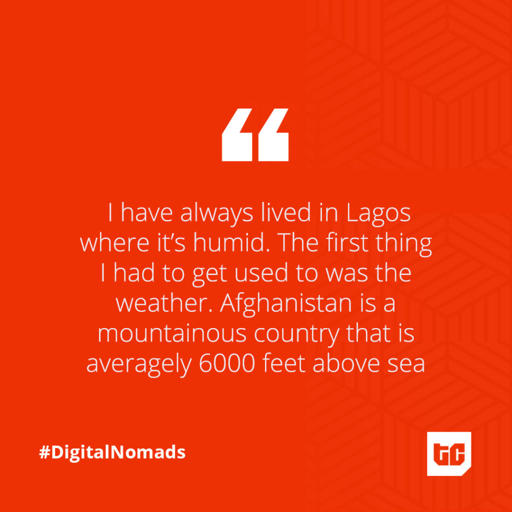 Digital Nomads Afghanistan quotes