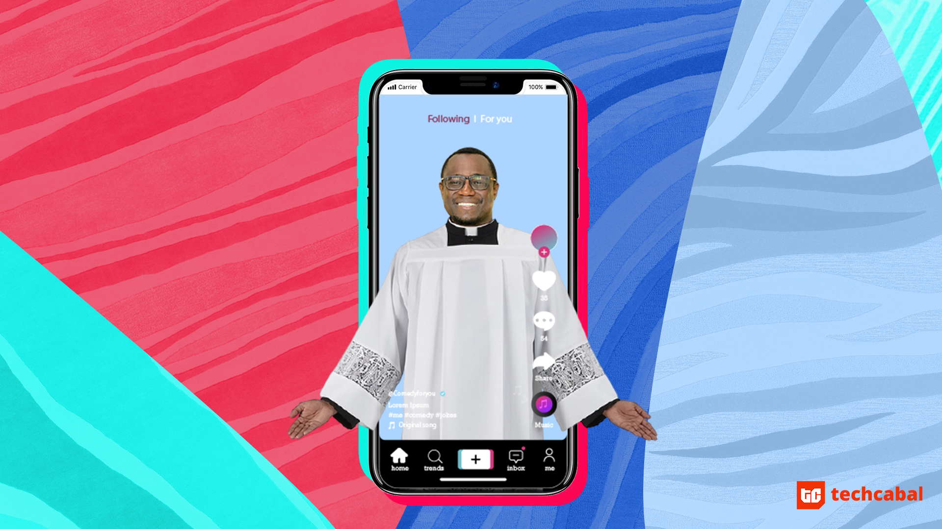 Nigerian priest on tik tok
