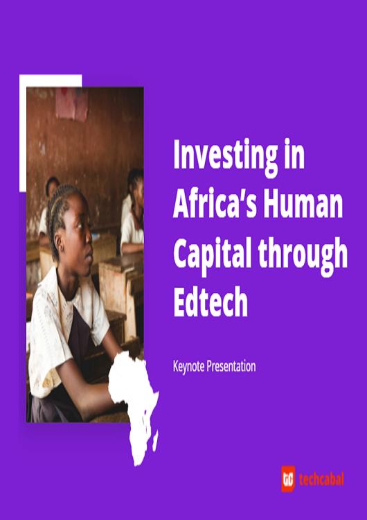 Edtech in Africa