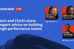 Seni and Chichi share expert advice on building high-performance teams