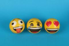 emoji balls. An Illustartion for the article on how to make custom emojis