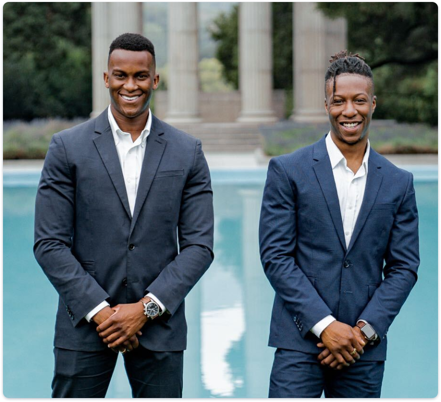 L-R: Joshua Nzewi (Co-founder and CEO) and Daniel Iya (Co-founder and CTO).