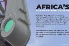 High-tech internet solution across the Congo River links Kinshasa, Brazzaville