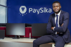 Co-founder and CEO of PaySika, Roger Nengwe. Image credit: Supplied.