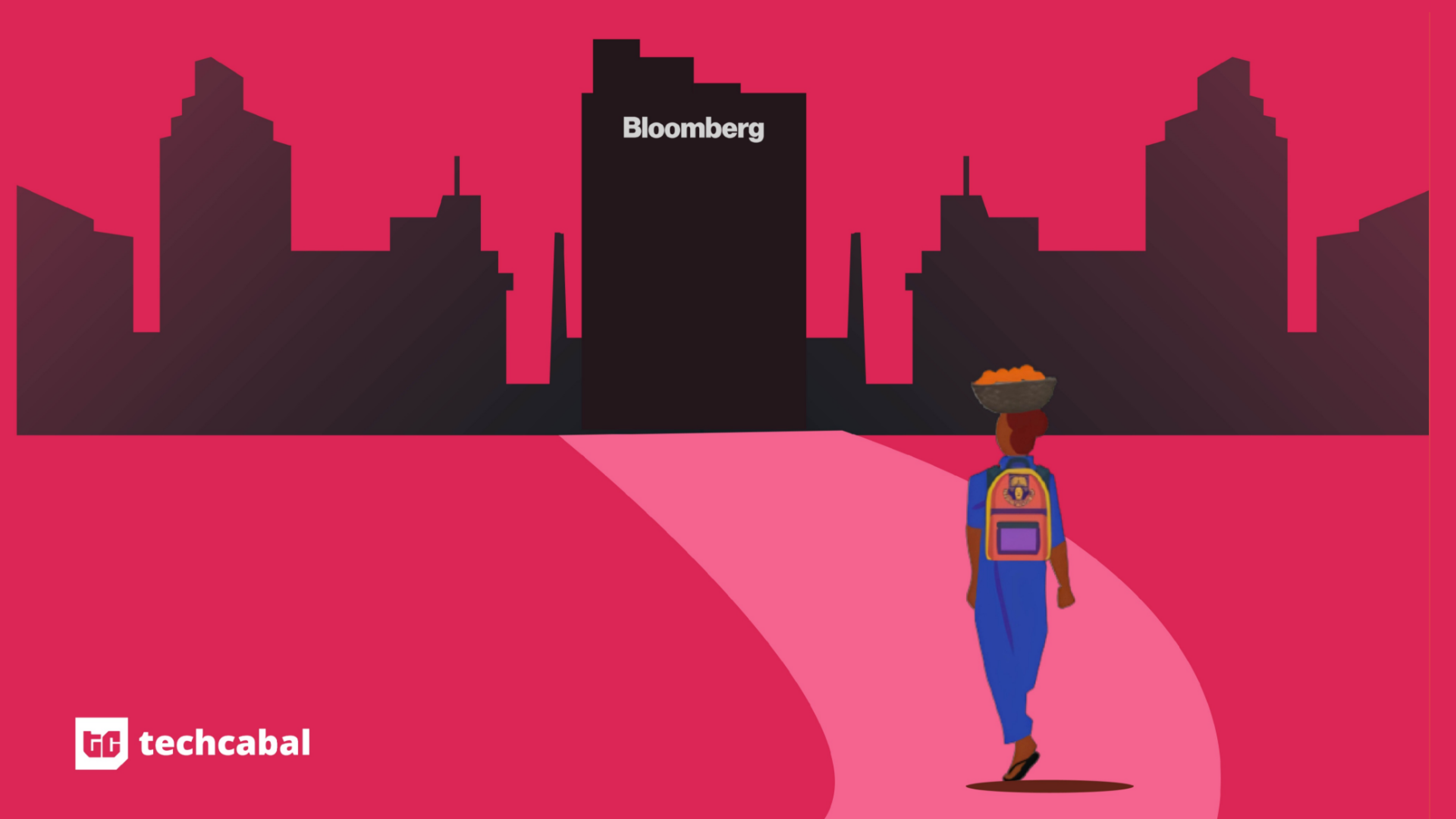 How a Nigerian woman went from selling dried fish to developing software at Bloomberg